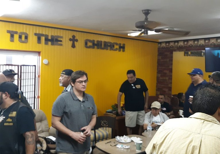 July 27 2019 Men's conference at JTC Coffee Shop